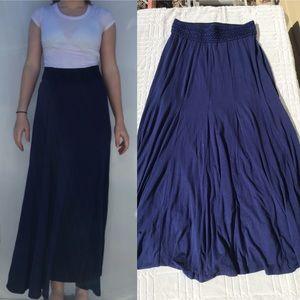 Flowy Navy Skirt